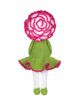 Daisy flower doll - Sunflower Sam modification made by Eugenia H P ... | 340x272