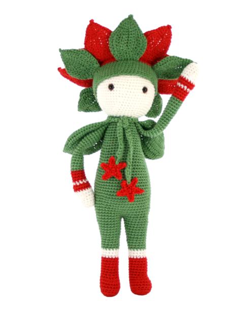 Christmas Star Kris crochet pattern by Zabbez
