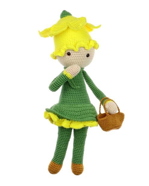 Daffodil Nancy crochet pattern by Zabbez