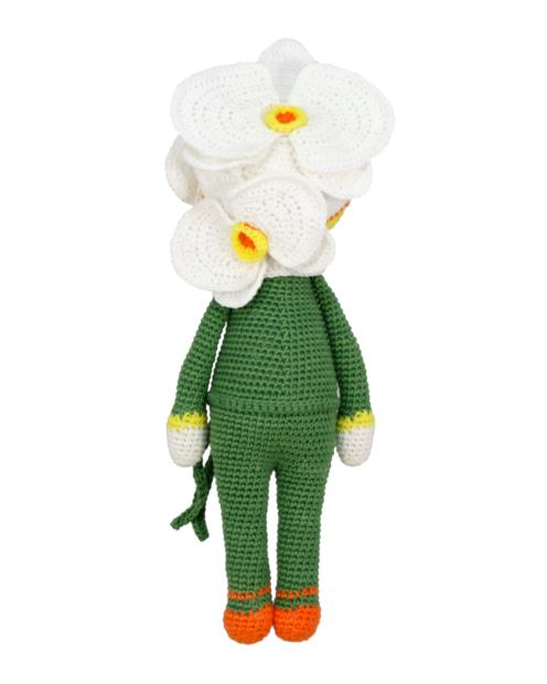 Orchid Ollie crochet pattern by Zabbez