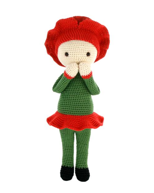 Poppy Paola crochet pattern by Zabbez
