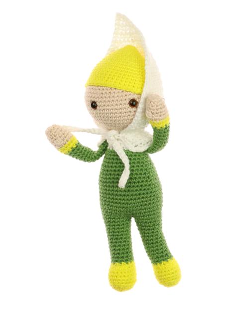 Little Calla Lily Crista crochet pattern by Zabbez