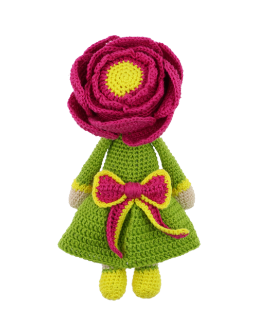 Little Peony Pam crochet pattern by Zabbez