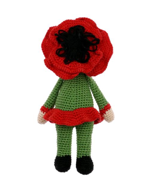 Little Poppy Paola crochet pattern by Zabbez