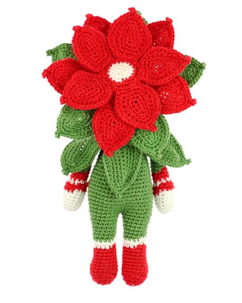 Little Christmas Star Kris crochet pattern by Zabbez