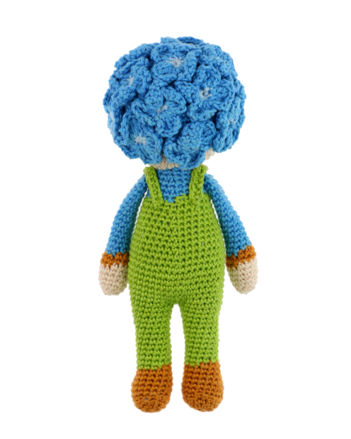 Little Hydrangea Hank crochet pattern by Zabbez