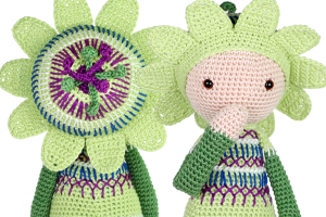 New pattern: Passionflower Paz