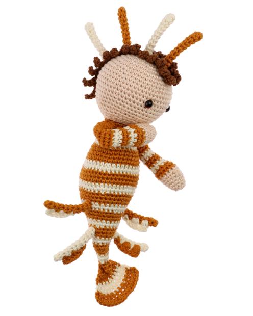 Lionfish Koen crochet pattern by Zabbez