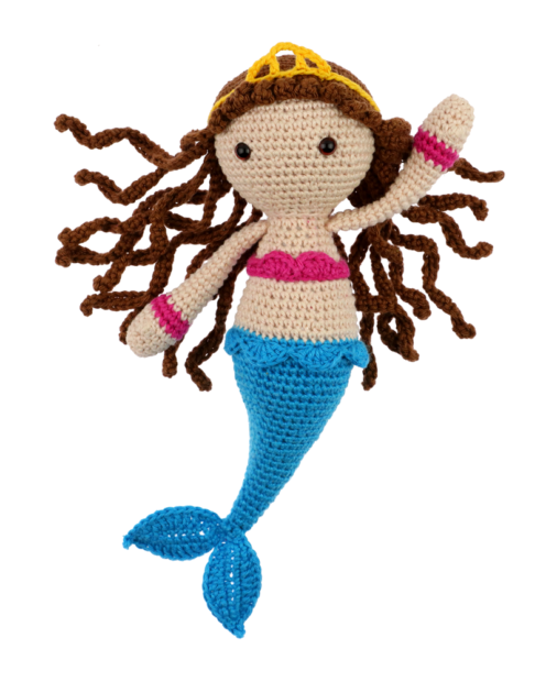 Mermaid Lana crochet pattern by Zabbez