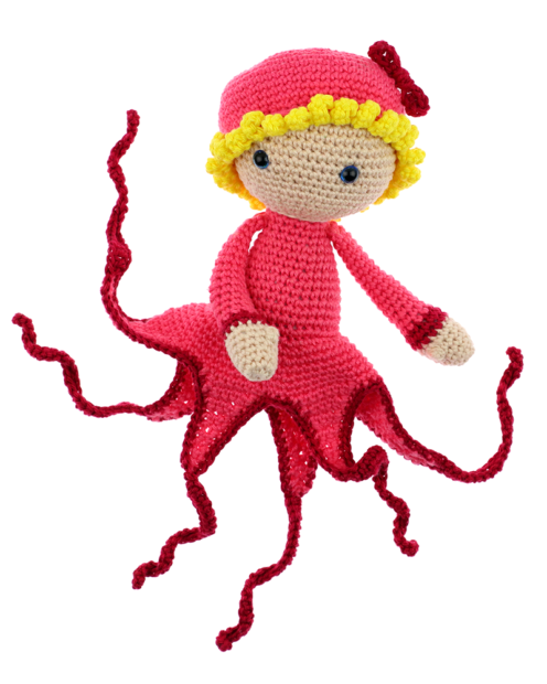 Octopus Olga crochet pattern by Zabbez