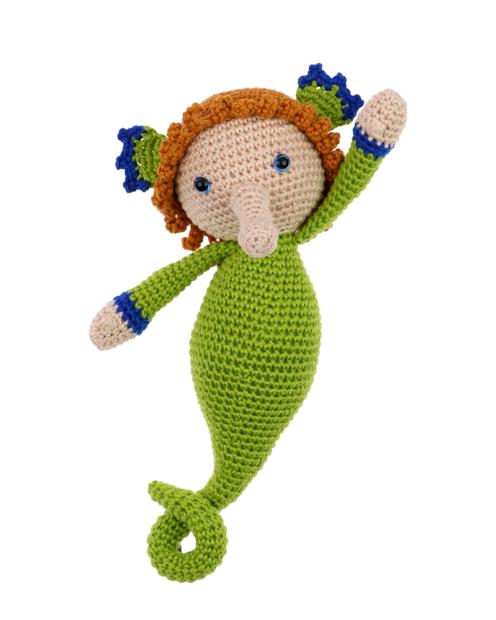 Seahorse Zafar crochet pattern by Zabbez