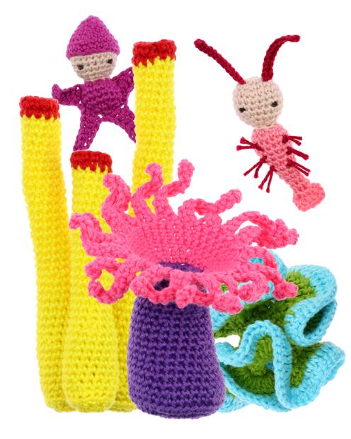 Waterworld Set crochet pattern by Zabbez
