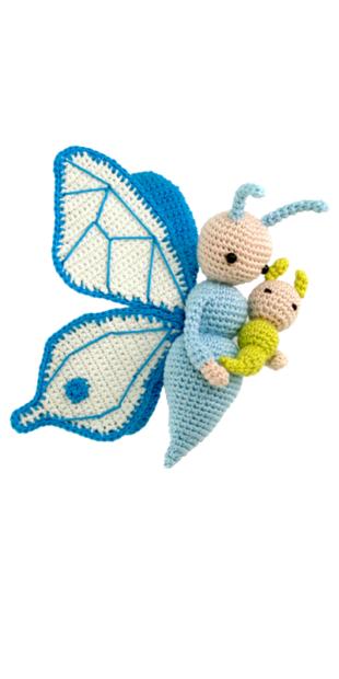 Butterfly Bree crochet pattern by Zabbez