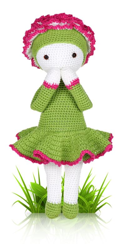 Carnation Cati - crochet amigurumi pattern by Zabbez / Bas den Braver
