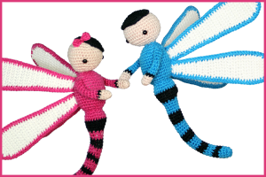 New pattern: Dragonflies