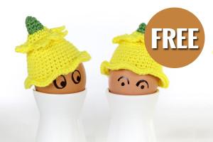 Free crochet pattern Daffodil Hats