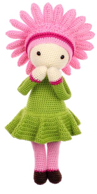 Gerbera Gemma crochet pattern by Zabbez