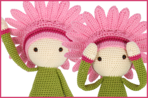 New pattern: Gerbera Gemma