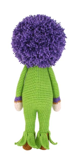 Giant Onion Otto crochet pattern by Zabbez