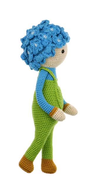 Hydrangea Hank crochet pattern by Zabbez
