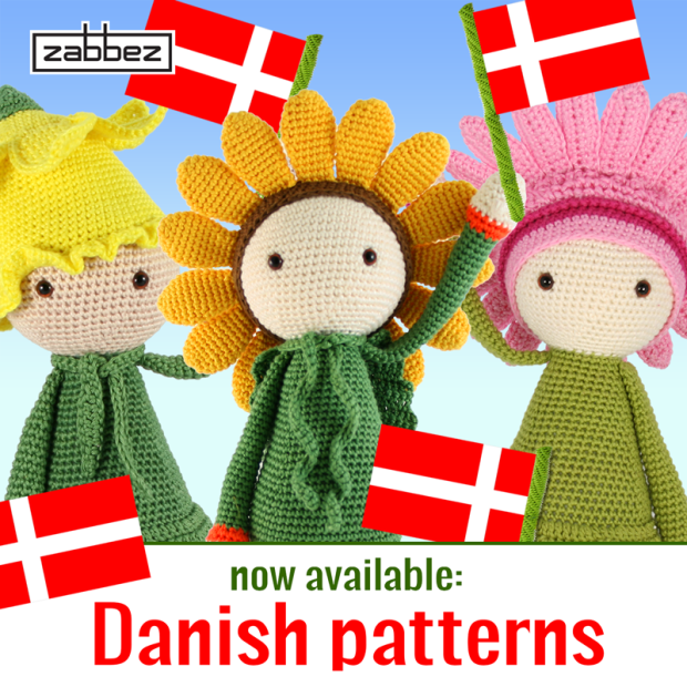 Danish flower doll crochet patterns