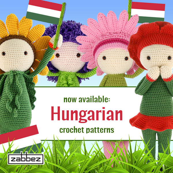 Hungarian flower doll crochet patterns