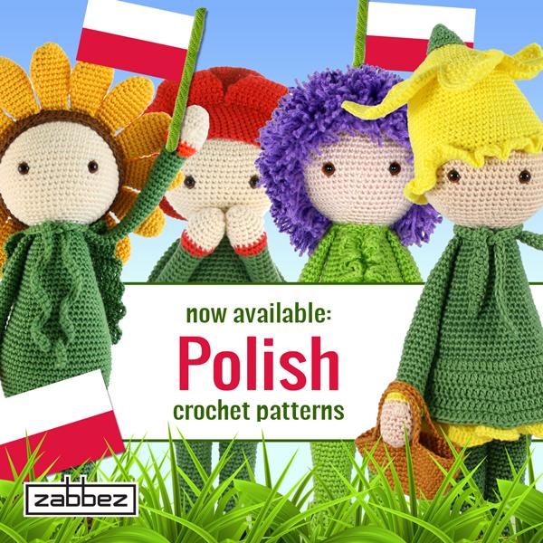 Polish flower crochet patterns