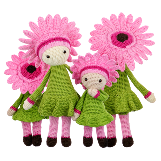 Little Gerbera Gemma crochet pattern