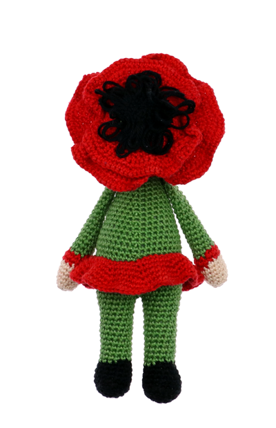 Little Poppy Paola crochet pattern by Zabbez