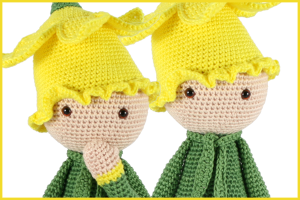 New pattern: Daffodil Nancy