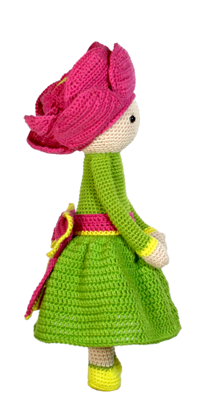 How to Crochet an Amigurumi Doll Mermaid. A No Sew One Piece ... | 800x400