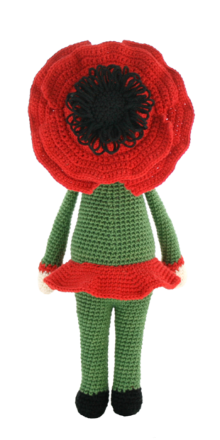 Poppy Paola crochet pattern by Zabbez