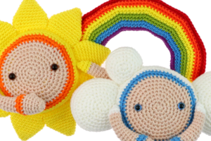 Free Rainbow crochet pattern