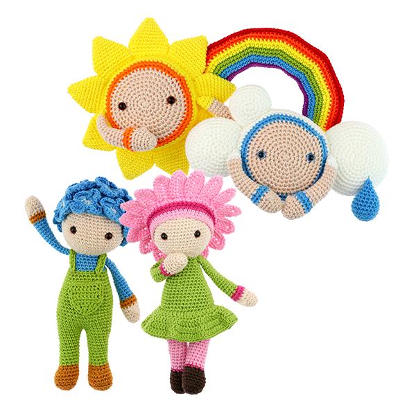 Free Rainbow crochet pattern