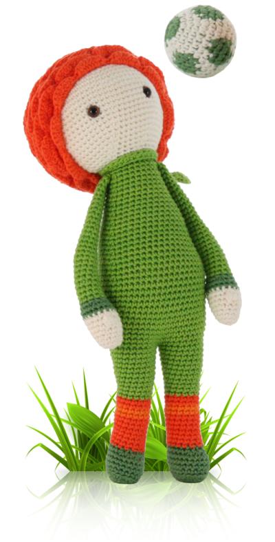 Ranunculus Ronan - crochet amigurumi pattern by Zabbez / Bas den Braver