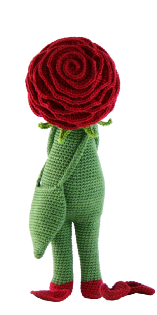 Rose Roxy crochet pattern by Zabbez