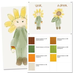Sunflower Sam - colorscheme