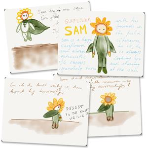 Sunflower Sam concept