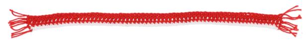 Free crochet pattern Christmas Scarf