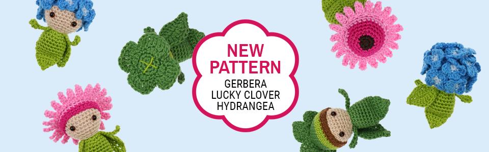 Mini Gerbera - Mini Lucky Clover - Mini Hydrangea