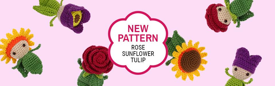 Mini Rose - Mini Sunflower - Mini Tulip