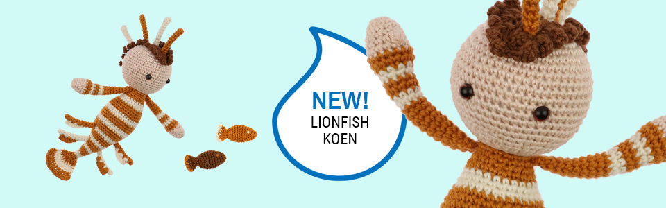 Lionfish Crochet Pattern