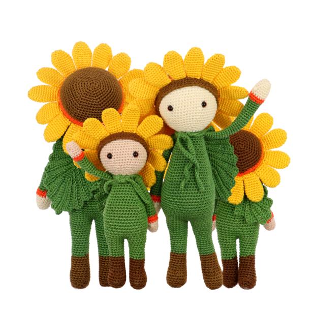 Little Sunflower Sam crochet pattern