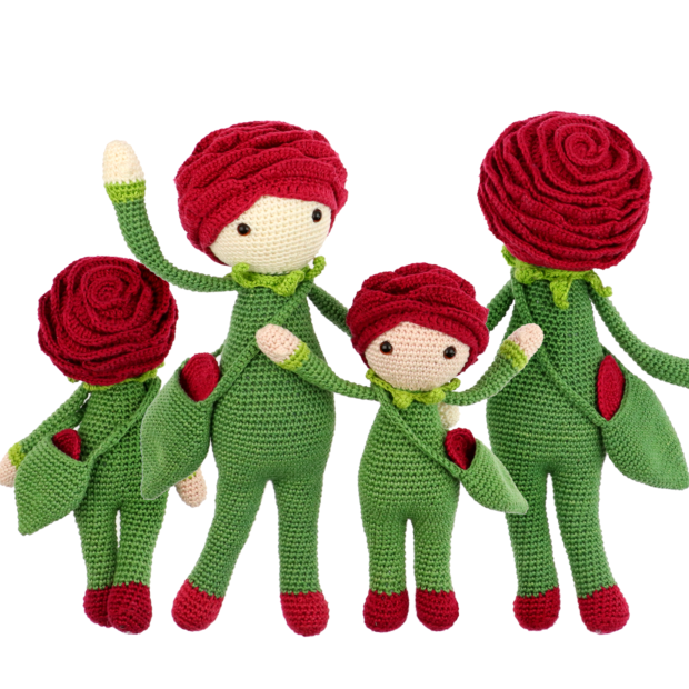 Little Rose Roxy crochet pattern