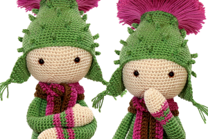New pattern: Thistle Tim
