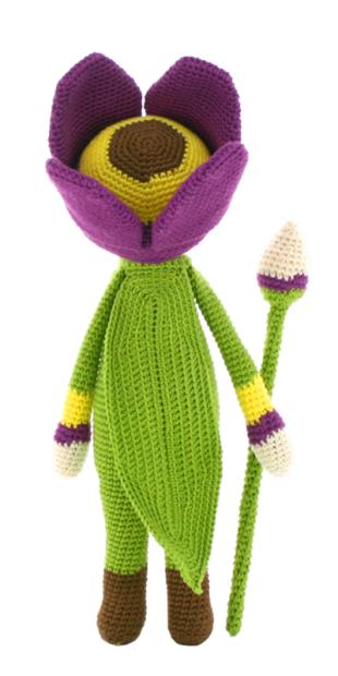 Tulip Theo crochet pattern by Zabbez