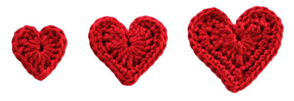 Free Valentine Heart Patterns - Zabbez - crochet amigurumi flower ...