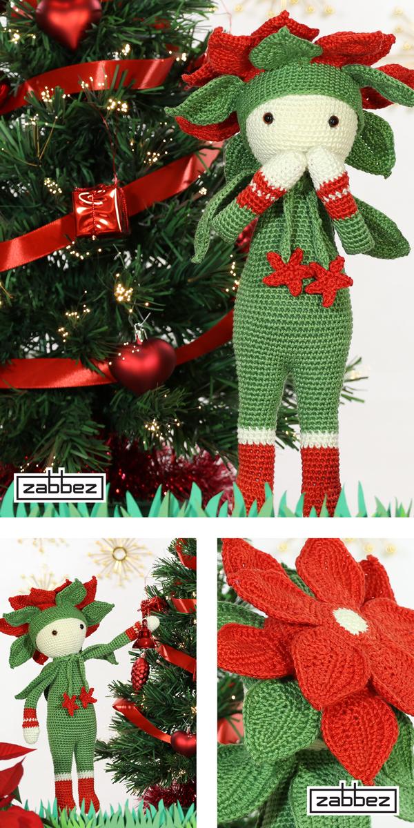 christmas star kris crochet pattern